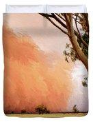 Dust Storm Duvet Cover