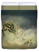 Dusty Britches Duvet Cover