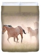Dusty Emergence 002 Duvet Cover