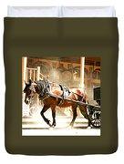 Dusty Horse Duvet Cover