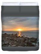 Dutch December Beach 002 Duvet Cover