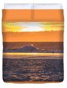 Dutch December Beach 003 Duvet Cover