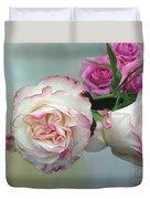 Dutch Frilled Roses Duvet Cover