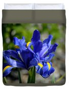Dutch Iris Duvet Cover