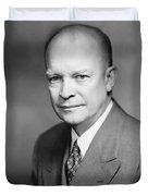 Dwight Eisenhower Duvet Cover