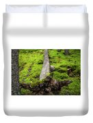 Dying Tree In The Forest Duvet Cover