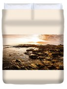 Dynamic Ocean Panoramic Duvet Cover