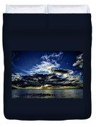 Dynamic Sunset Duvet Cover