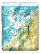Dynamics Of Water Duvet Cover