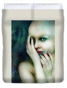 Dysthymia Duvet Cover by Mary Hood