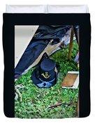 E Company Black Hat Duvet Cover