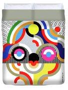 E Motion - Princess Face 1 Duvet Cover