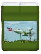 Eaa F-86 Sabre Duvet Cover