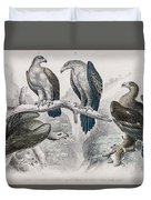 Eagle Birds Print Duvet Cover