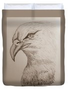 Eagle Drawing 1 Duvet Cover