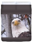 Eagle Eyes Duvet Cover