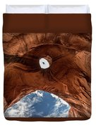 Eagle Head,  Monument Valley Duvet Cover