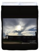 Eagle Cloud In The Carolina Sky Duvet Cover