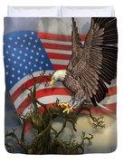 Eagle Lands Duvet Cover