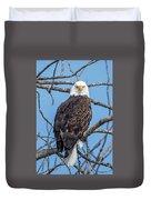 Eagle Mean Muggin Me Duvet Cover