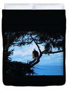 Eagle - Mt Baker - Eagles Nest Duvet Cover
