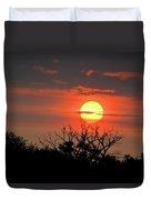 Eagle Nest Sunrise Duvet Cover