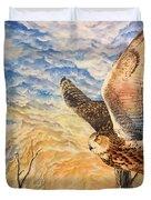 Eagle Owl Duvet Cover