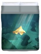Eagle Ray Underwater Duvet Cover