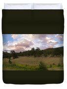 Eagle Rock Estes Park Colorado Duvet Cover