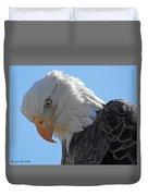 Eagle Stare Duvet Cover