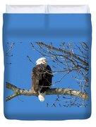 Eagle Watch Duvet Cover
