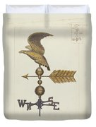 Eagle Weather Vane Duvet Cover