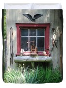 Eagle Window Duvet Cover
