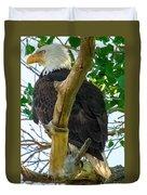Eagles Of The Salt River Duvet Cover