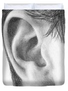 Ear Study Duvet Cover