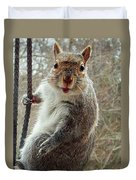 Earl The Squirrel Duvet Cover