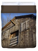 Early American Barn Duvet Cover