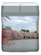 Early Arrival Of The Japanese Cherry Blossoms 2016 Duvet Cover