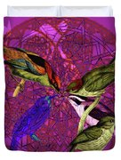 Early Bird Solar Energy Duvet Cover by Joseph Mosley