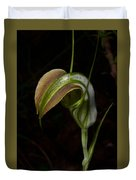 Early Cobra Orchid Duvet Cover