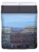 Early Evening At Grand Canyon No. 2 Duvet Cover