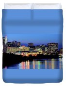 Early Evening In Hartford Duvet Cover