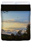 Early Evening Sunset 2 Duvet Cover