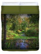 Early Fall At Montauk State Park  Duvet Cover
