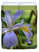 Early Iris Duvet Cover
