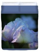 Early Iris Sunshine Duvet Cover