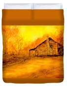 Early Kentucky Times Duvet Cover