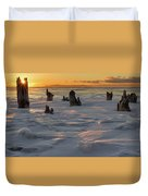 Early March Sleeping Giant Sunrize Duvet Cover