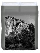 Early Morining Zion B-w Duvet Cover