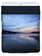 Early Morning At Lake Of The Ozarks Duvet Cover